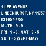 Link to Lindenhurst Memorial Library Home Page